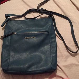 Franco Sarto Teal Crossbody